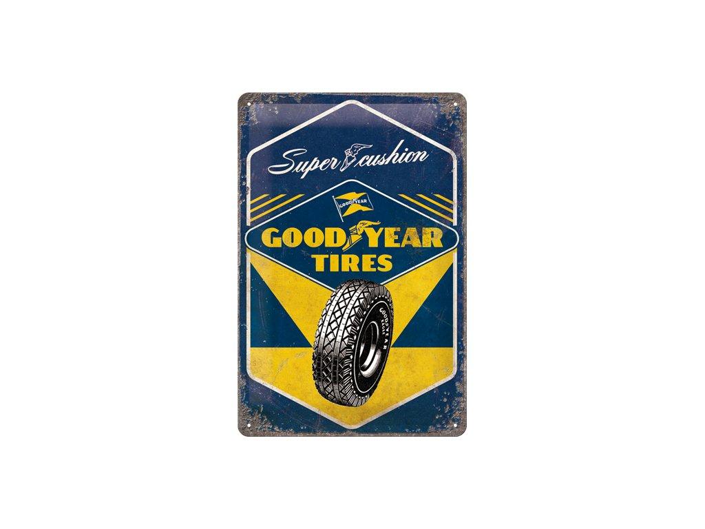 Plechová Ceduľa Good Year Tires