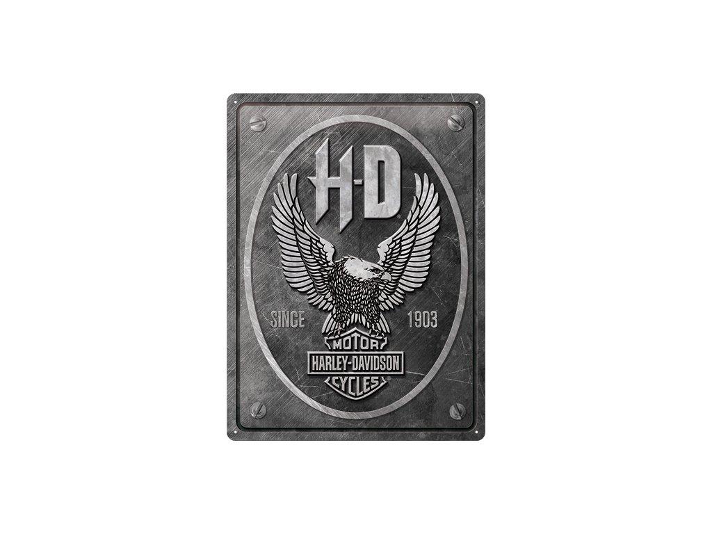 Plechová Ceduľa Harley-Davidson (Metal Eagle)