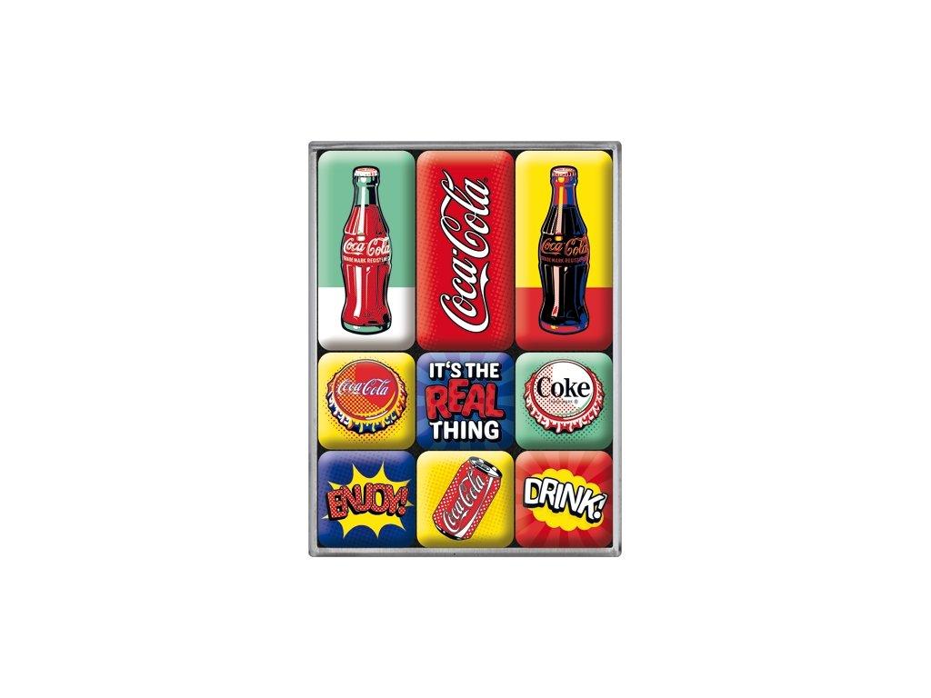 Sada Magnetiek - Coca Cola Pop Art