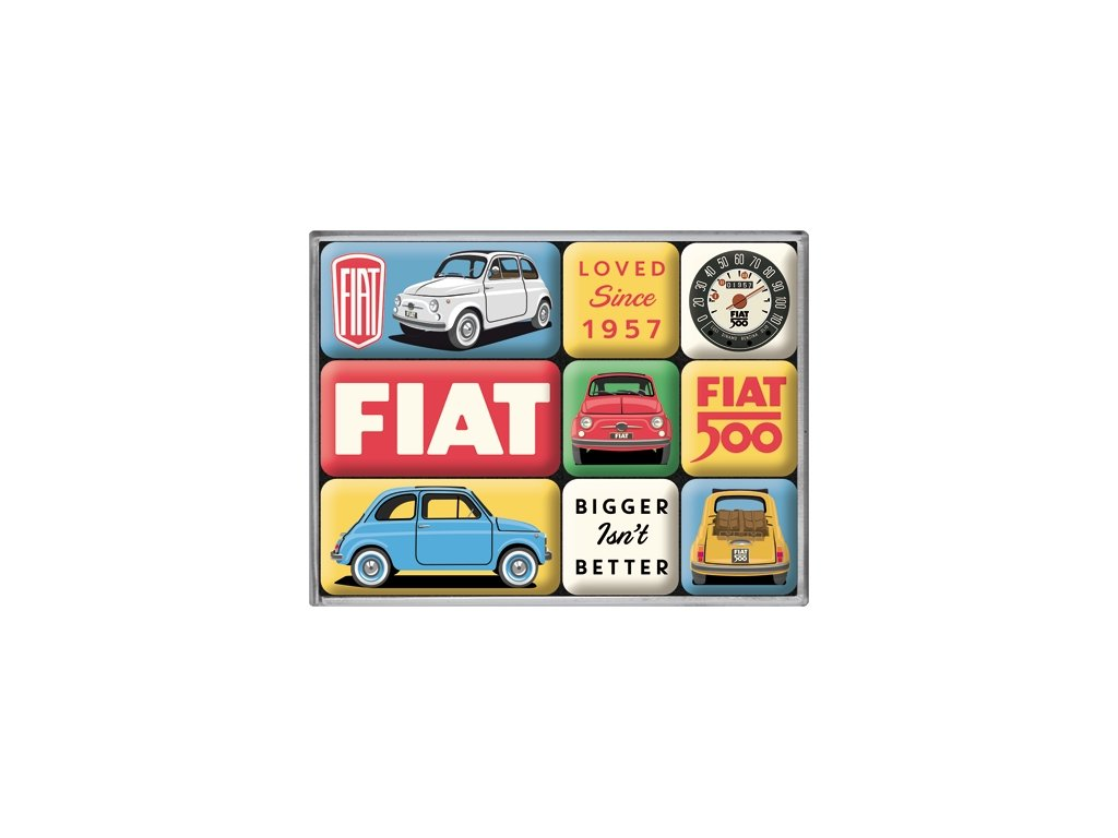 Sada Magnetiek - Fiat 500 Loved Since 1957