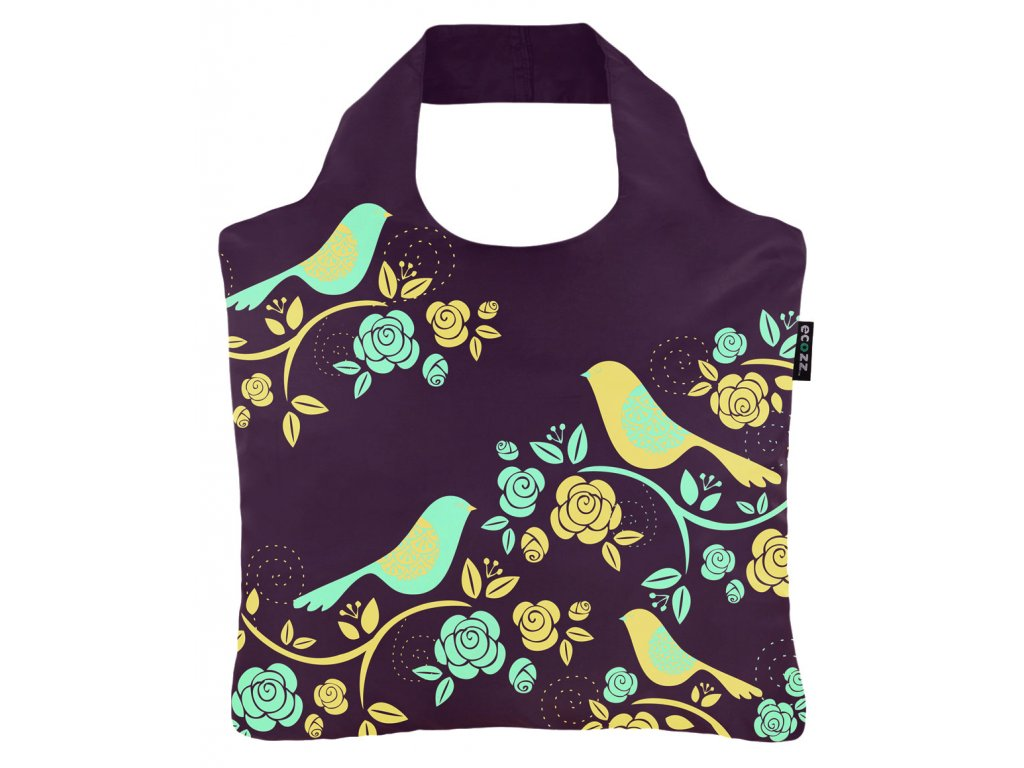 Skladacia eko taška Ecozz Folklore Birds