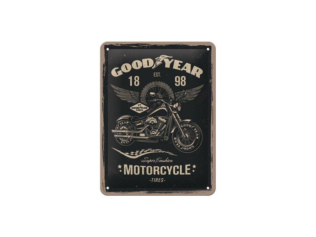 Plechová ceduľa Good Year Motorcycle
