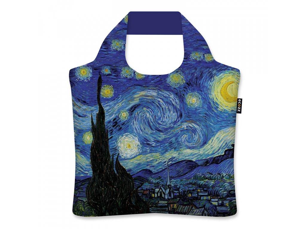 Nákupná Eko taška ECOZZ - Starry Night - Vincent van Gogh