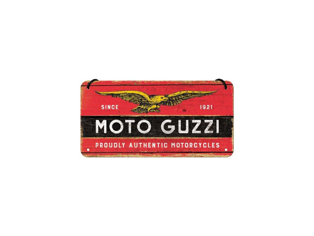 Plechová ceduľa Moto Guzzi