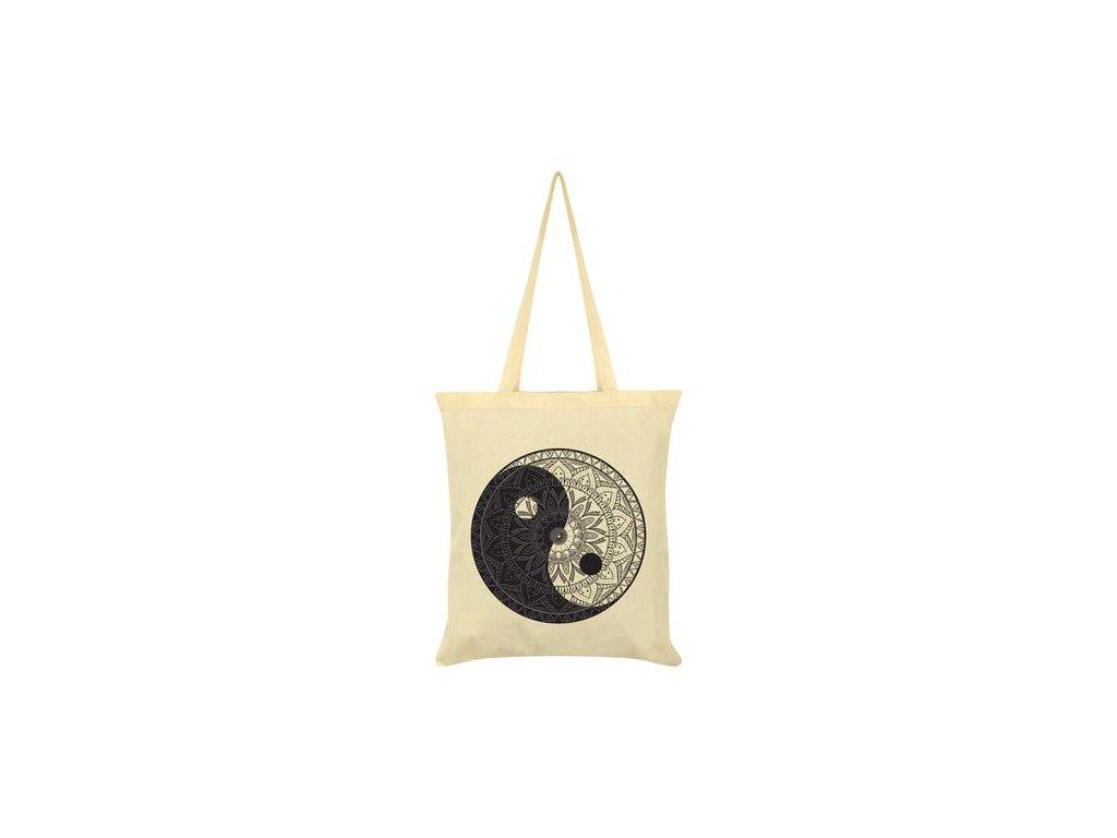 Bavlnená Taška Yin Yang Mandala