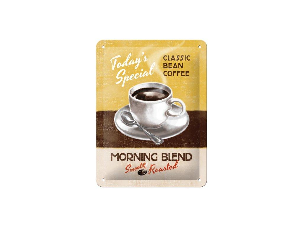 Plechová ceduľa Classic Bean Coffee