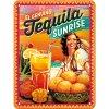 Plechová Ceduľa Tequila Sunrise