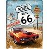 Plechová ceduľa Route 66 US