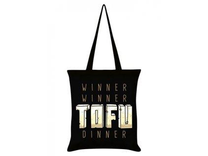 Bavlnená Taška Tofu Dinner