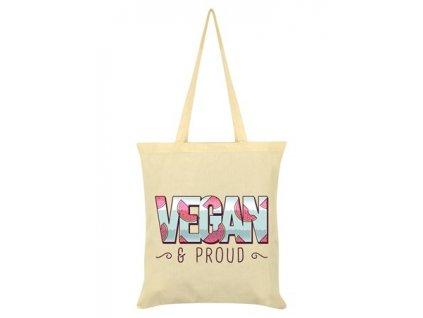 Bavlnená Taška Vegan & Proud