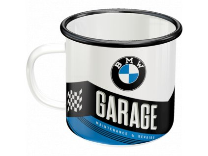 Plechový Hrnček BMW Garage 2