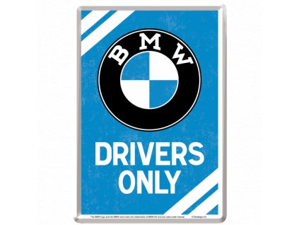 Plechová Pohľadnica BMW Drivers Only