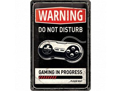 Gaming in progress