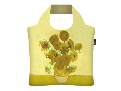 Nákupná eko taška Ecozz - Vincent van Gogh Sunflowers