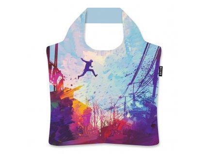 Skladacia eko taška Ecozz - Jump by Tithi Luadthong