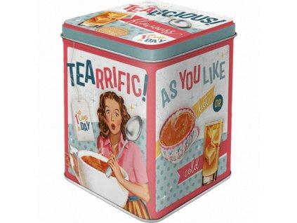 Dóza na čaj Tearrific
