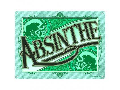 Plechová Ceduľa Absinthe