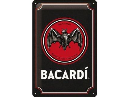 Plechová Ceduľa Bacardi Logo