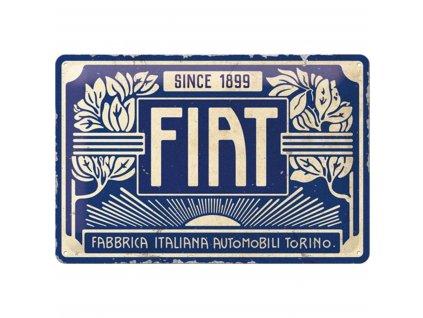 Plechová ceduľa Fiat Since 1899