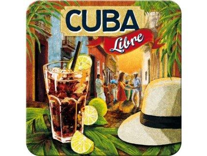 Plechové Podtácky Cuba Libre