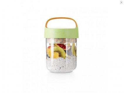 Svačinový box Lékué Jar To Go 400 ml zelený(0)