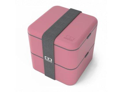 Lunch Box Monbento Square - Rose Blush