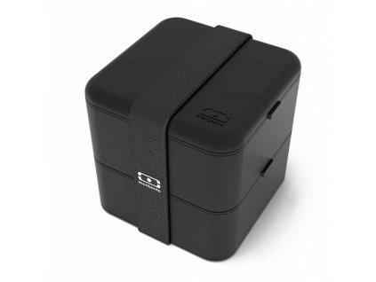 Lunch Box Monbento Square - Black Onyx