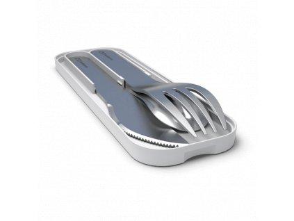 Sada Príborov Monbento Pocket - Grey Coton