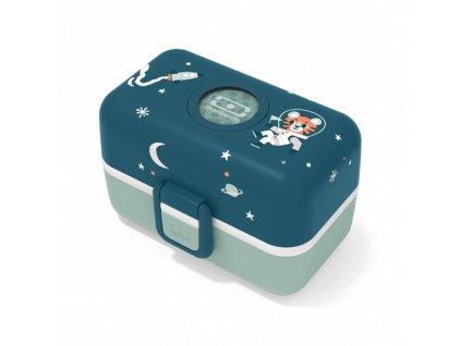 Desiatový Box Monbento Tresor - Blue Cosmic