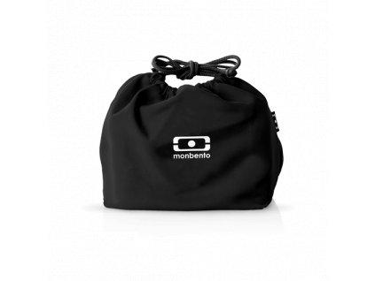 Taška Pre Desiatový Box Monbento Pochette - Black Onyx