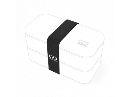 Gumička Pre Lunchbox Monbento Original - Čierna