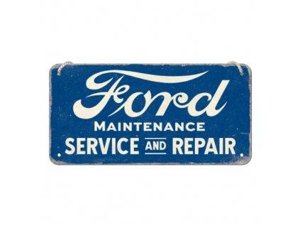 Plechová Ceduľa Ford Service And Repair