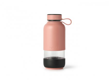 Sklenená Fľaša Lékué Bottle To Go - Lososová