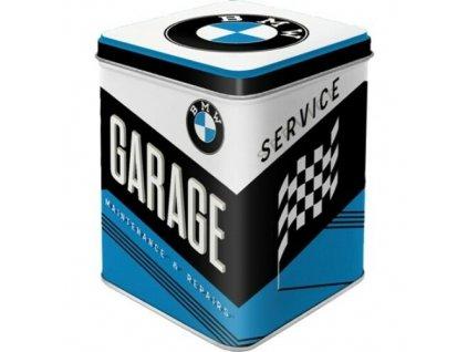 Dóza na čaj BMW Garage