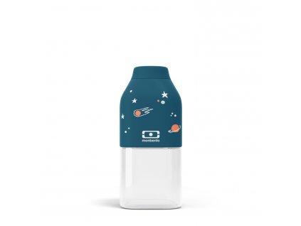Fľaša Monbento Positive S - Blue Cosmic