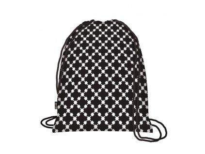 Ecozz Backpack - Squares Black