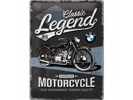 Plechová Ceduľa BMW Classic Legend R5