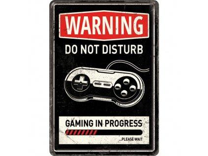 Plechová Pohľadnica Gaming In Progress
