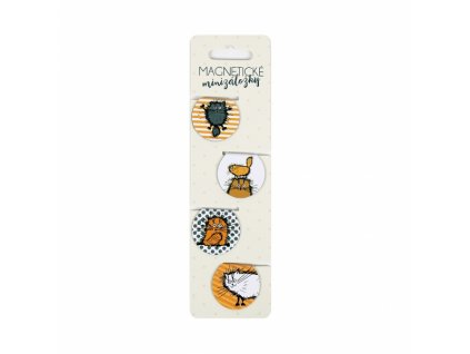 Magnetické Minizáložky - Chlpaté Mačičky