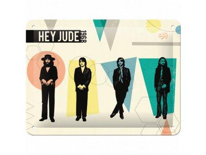 Plechová ceduľa The Beatles - Hey Jude