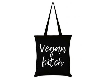 Bavlnená Taška Vegan Bitch