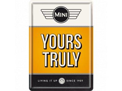 Plechová Pohľadnica Mini (Yours Truly)