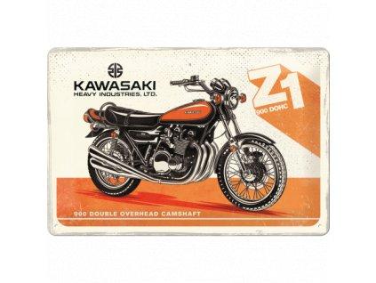 Plechová ceduľa Kawasaki Z1