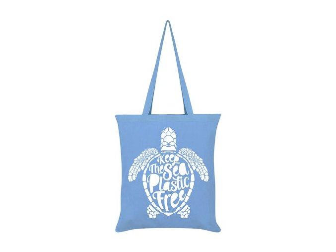 Bavlnená Taška Keep The Sea Plastic Free