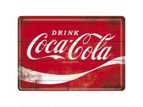 Plechová Pohľadnica Coca-Cola