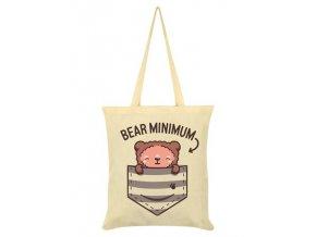 Bavlnená Taška Bear Minimum