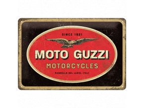 Plechová Ceduľa Moto Guzzi Motorcycles