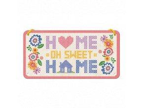 Plechová Ceduľa Home Sweet Home