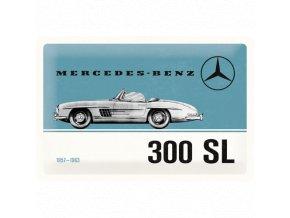 Plechová Ceduľa Mercedes-Benz 300 SL