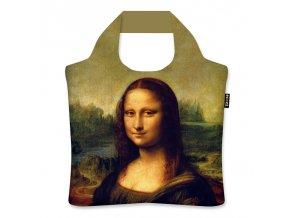 Skladacia eko taška Ecozz - Leonardo da Vinci Mona Lisa